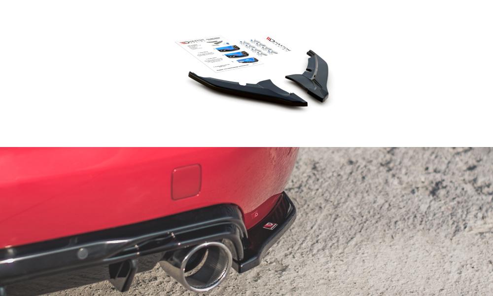 SPLITTERY TYLNE BOCZNE PEUGEOT 308 GT MK2 FACELIFT - GRUBYGARAGE - Sklep Tuningowy